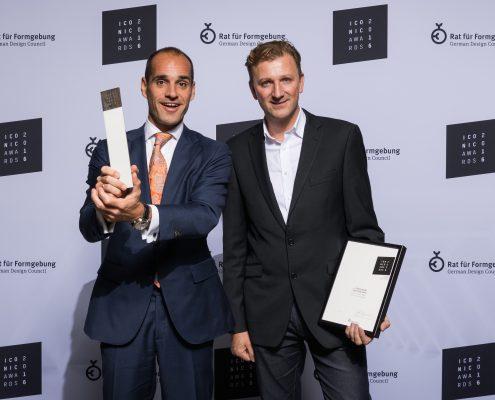 DEU, München, BMW Welt, 04.10.2016. Verleihung der Iconic Awards 2016.